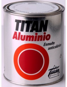 Esmalte anticalórico Titan aluminio