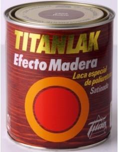 Esmalte Titanlak efecto madera Roble 2802