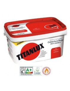 Titanlux Cobertura Total Blanco Linum 1002 Ecologica 4 L