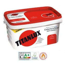 Titanlux Cobertura Total Blanco 1000 Ecologica 4 L Blanco 1000